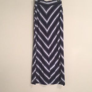 Sonoma striped Maxi Skirt